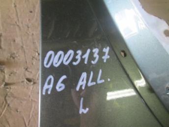 Крыло переднее левое AUDI A6 ALLROAD (2000-2001) Б/У 4Z7821103A