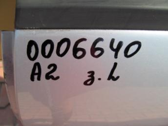 Дверь задняя левая AUDI A2 Б/У 8Z0833051