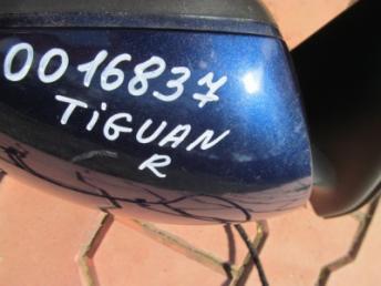Зеркало электрическое правое VW TIGUAN Б/У 5N1857508Q