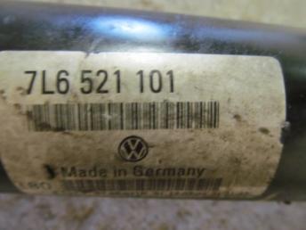 Кардан передний VW TOUAREG Б/У 7L6521101G 7L6521101N