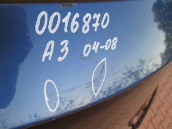 Крышка багажника AUDI A3 8P3 БУ 8P3827023AC