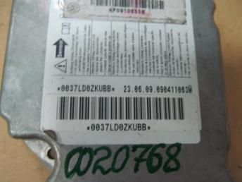 Электронный блок управления подушками безопасности AUDI A6 (2005-2008) Б/У 4F0910655E