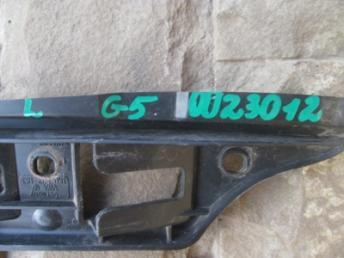 Направляющий профиль переднего бампера левый VW GOLF 5 / JETTA 5 (2004-2010) Б/У 1K0807183