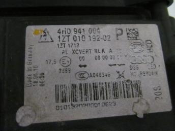 Фара адаптивная правая AUDI A8 БУ  4H0941030P