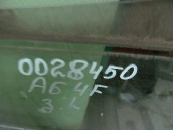 Стекло двери задней левой универсал AUDI A6 (2005-2011) БУ 4F9845205