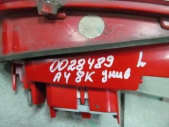 Фонарь задний левый LED AUDI А4 БУ  8K9945093B
