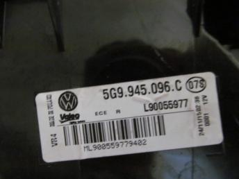 Фонарь задний универсал наружный правый VW GOLF 7 (2014-2017) БУ 5G9945096C