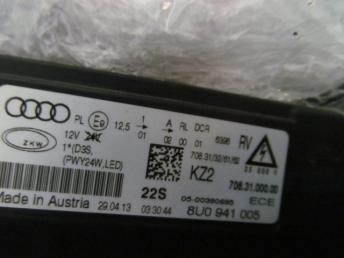 Фара ксенон левая AUDI Q3 8U0 БУ  8U0941043