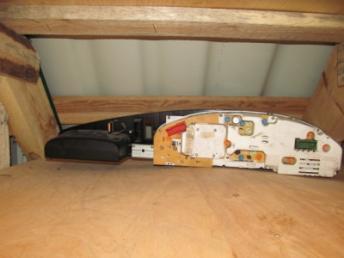 Комбинация приборов 240км 2.0 / 2.3 AUDI А100 (1991-1994) БУ 4A1919033B