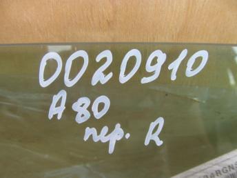 Стекло передней правой двери AUDI A80 новое 893845022