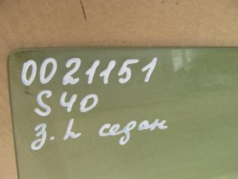 Стекло двери задней левой седан VOLVO S40 (1996-2004) БУ  30802908