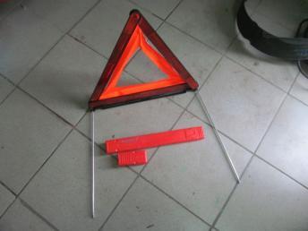 Знак аварийной остановки AUDI (2006---) / VW (2006---) 1T0860250A БУ  8K0860251