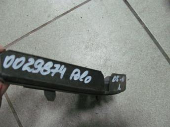 Направляющий профиль переднего бампера левая VW POLO (2005-2010) БУ  6Q0807183A