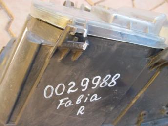 Фара галогенная правая SKODA FABIA (2000-2004) БУ 6Y1941016H