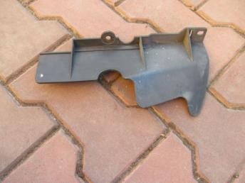 Воздуховод радиатора левый SKODA FABIA (2000-2008) БУ 6Y0121283