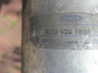 Осушитель кондиционера AUDI A4 (1998-2001) / A6 (1998-2005) 4 и 6 цилиндров БУ 8D0820193A