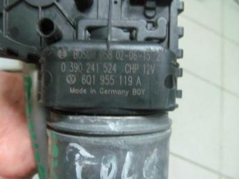 Трапеция стеклоочистителя VW POLO (2002-2010) в сборе БУ 6Q1955601B