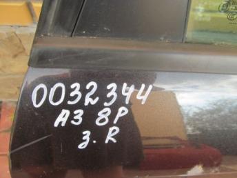 Дверь задняя правая AUDI A3 8P БУ 8P4833052A