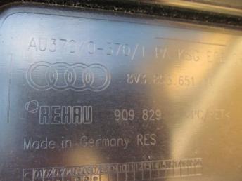 Решётка радиатора AUDI A3 хэтчбек БУ 8V3853651AA
