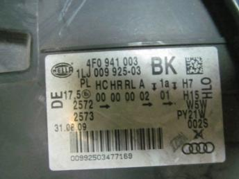Фара левая AUDI А6 2009 4F0941003BJ