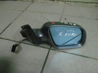 Зеркало электрическое правое AUDI A6 (1998-2005) 5 контактов короткое БУ 4B1858532BB