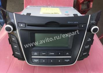 Автомагнитола c CD проигрывателем Hyundai i30  96170A6200GU