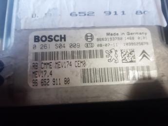 Блок управления двигателем Peugeot 308/C4 9665291180