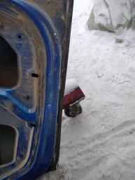 Дверь задняя левая Renault Logan 821017311R