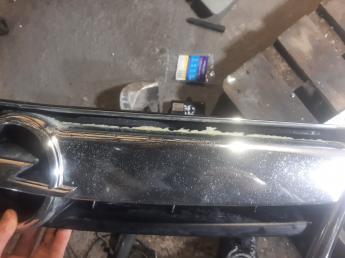Решетка радиатора Opel Antara рестайлинг 96661467