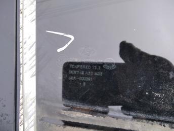 Стекло задней правой двери Hyundai Elantra 4 834212H010