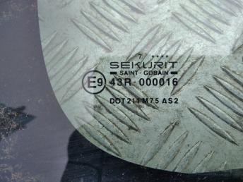 Стекло задней левой двери Berlingo/Partner 8569W4
