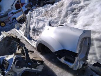 Левая часть кузова Renault Duster