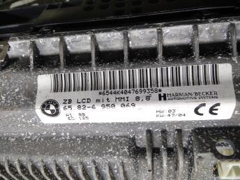 Дисплей информационный BMW 7 E65/E66 65826950069