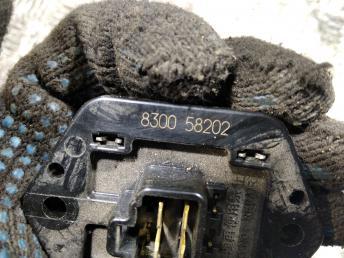 Резистор отопителя Mitsubishi Lancer 9 MR568591