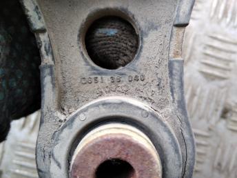 Опора двигателя КПП задняя Mazda 2 D65139040A