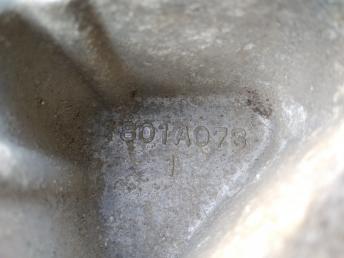 Кронштейн генератора Mitsubishi 1801A076