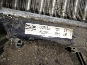 Радиатор основной Renault Laguna 2 8200008764
