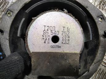 Динамик штатный передний Chevrolet Aveo 96540752