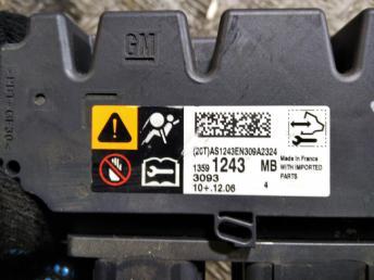 Блок управления AirBag Chevrolet Cruze 13591243