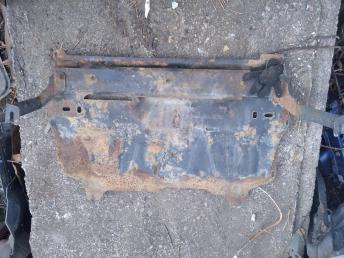 Защита двигателя Skoda Rapid