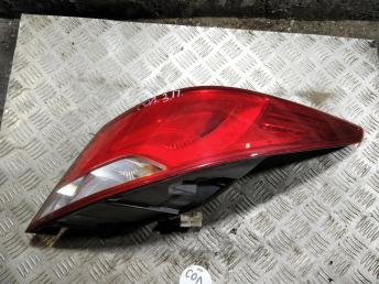 Фонарь задний правый Hyundai Solaris 14-17 924024L600