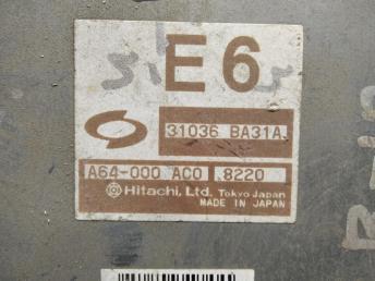 Блок управления АКПП Nissan Almera B10 31036BA31A
