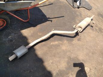 Труба глушителя приемная Hyundai Solaris/Rio 3 286104L000