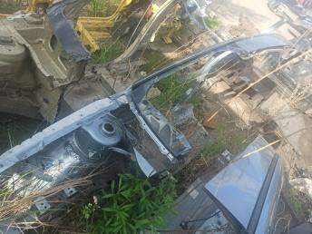 Лонжерон передний правый Skoda Octavia A4
