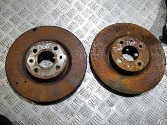 Диски томозные передние Fiat Doblo