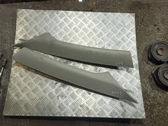 Обшивка стойки лобового стекла Chevrolet Cruze
