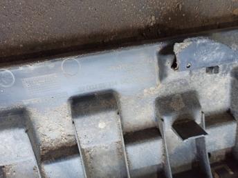 Пыльник переднего бампера Skoda Octavia A7 5E0807611