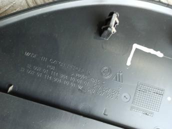 Накладка торпеды Skoda Octavia A7 8V1611021