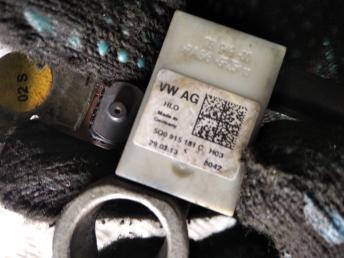 Клемма аккумулятора минус VAG 5Q0915181C