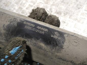 Воздуховод радиатора Nissan Almera G15 628204AA0A